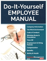 Captivating Do It Yourself Employee Manual