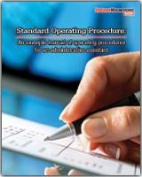 Standing Operating Procedure