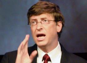 Bill Gates' obstinacy built Microsoft