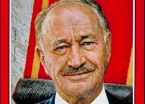 A leader with a song in his heart: Conrad Hilton