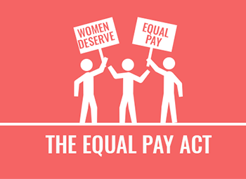 Are you in compliance with the Equal Pay Act?