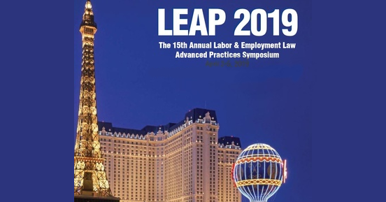 LEAP Symposium 2019 highlights: The top 10 employment law lessons