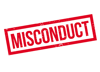 How to handle off-duty misconduct