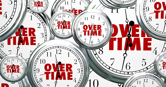How does leave buy back factor into overtime pay?