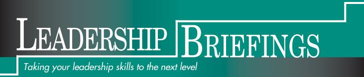 Leadership Briefings