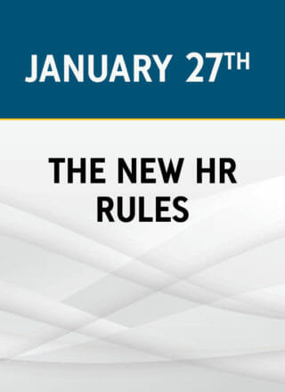 The New HR Rules