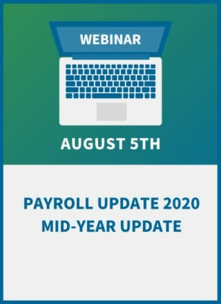 Payroll Update 2020: New Tax Code, New Tax Credits and Required Changes