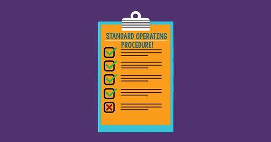 A procedures manual saved me! A true story of  SOP efficiency