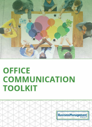 Office Communication Toolkit: 10 tips for managers on active listening skills, motivating employees, workplace productivity, employee retention strategies and change management techniques
