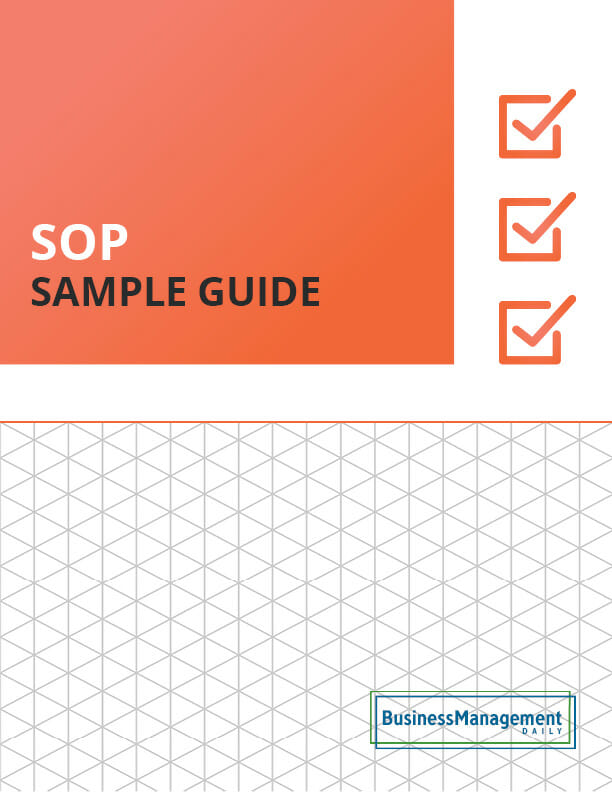 SOP Sample Guide