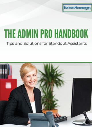 The Admin Pro Handbook: Tips and Solutions for Standout Assistants