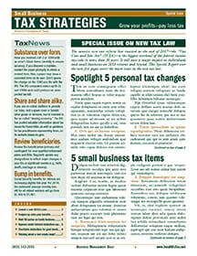 Small Business Tax Strategies