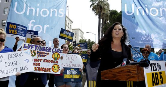 The gig is up! New AB 5 law turns many contractors into employees