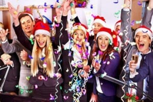 More holiday office parties, despite economic worries
