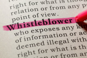 Beware retaliation against whistleblowers