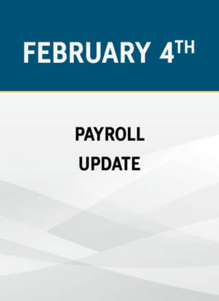Payroll Update 2020: New Tax Code, New Laws and Required Changes