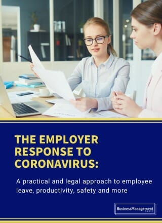 The Employer Response to Coronavirus.