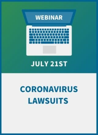 Coronavirus Lawsuits: How to Stay out of Court