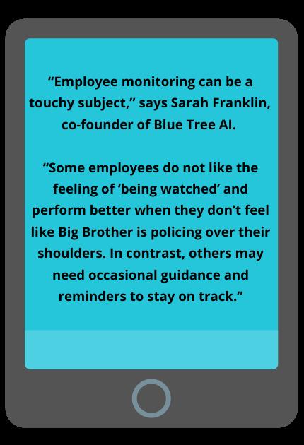 employee monitoring, monitoring employees online, phone screen