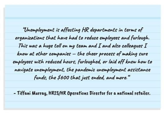 unemployment, HR, HR departments notecard 556x400