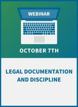Legal Documentation and Discipline: An HR Compliance Workshop