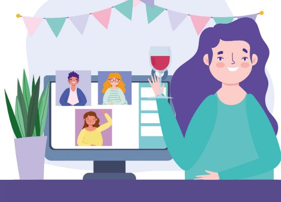 workplace holiday celebration 556x400 virtual party