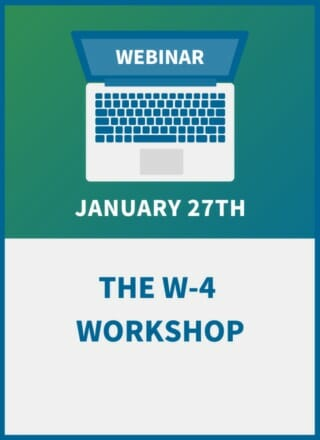 The W-4 Workshop: Compliance Training for Payroll & HR