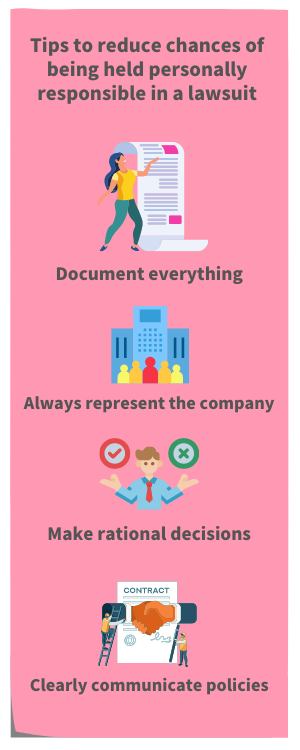 manager liable, manager liability 300x700 infographic
