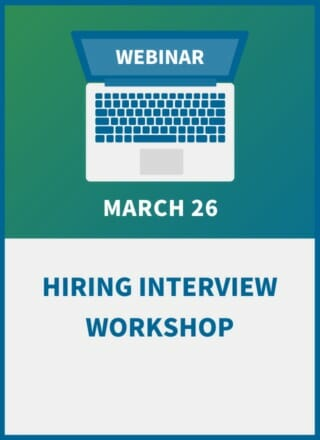 Hiring Interview Workshop: 29 Must-Ask Questions