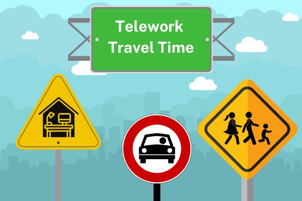 travel time telework 600x400