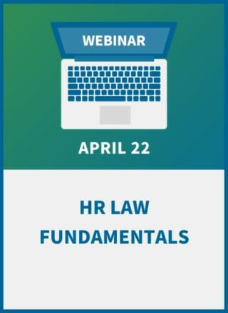 Learning the Law: HR Fundamentals for Managers