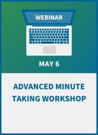 Advanced Minute Taking Workshop