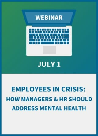 Employees in Crisis: How Managers & HR Should Address Mental Health